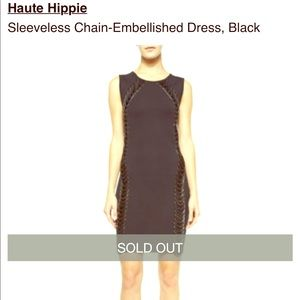 Haute Hippie bodycon Chain Dress